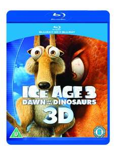 Ice Age 3: Dawn of the Dinosaurs - 3D Bluray - Amazon Prime - £0.93p (£2.92 non Prime)
