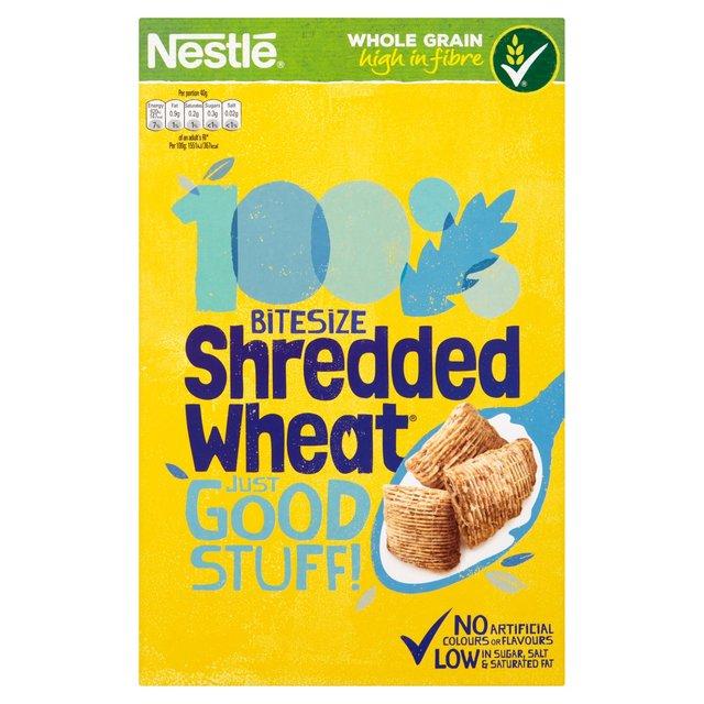 Nestle Shredded Wheat Bitesize Cereal (500g) was £2.66 now £1.25 @ Morrisons