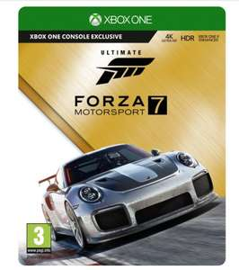 Forza 7 Ultimate Edition (Steelbook) £64.99 (normally £79.99) @ Smyths Toys