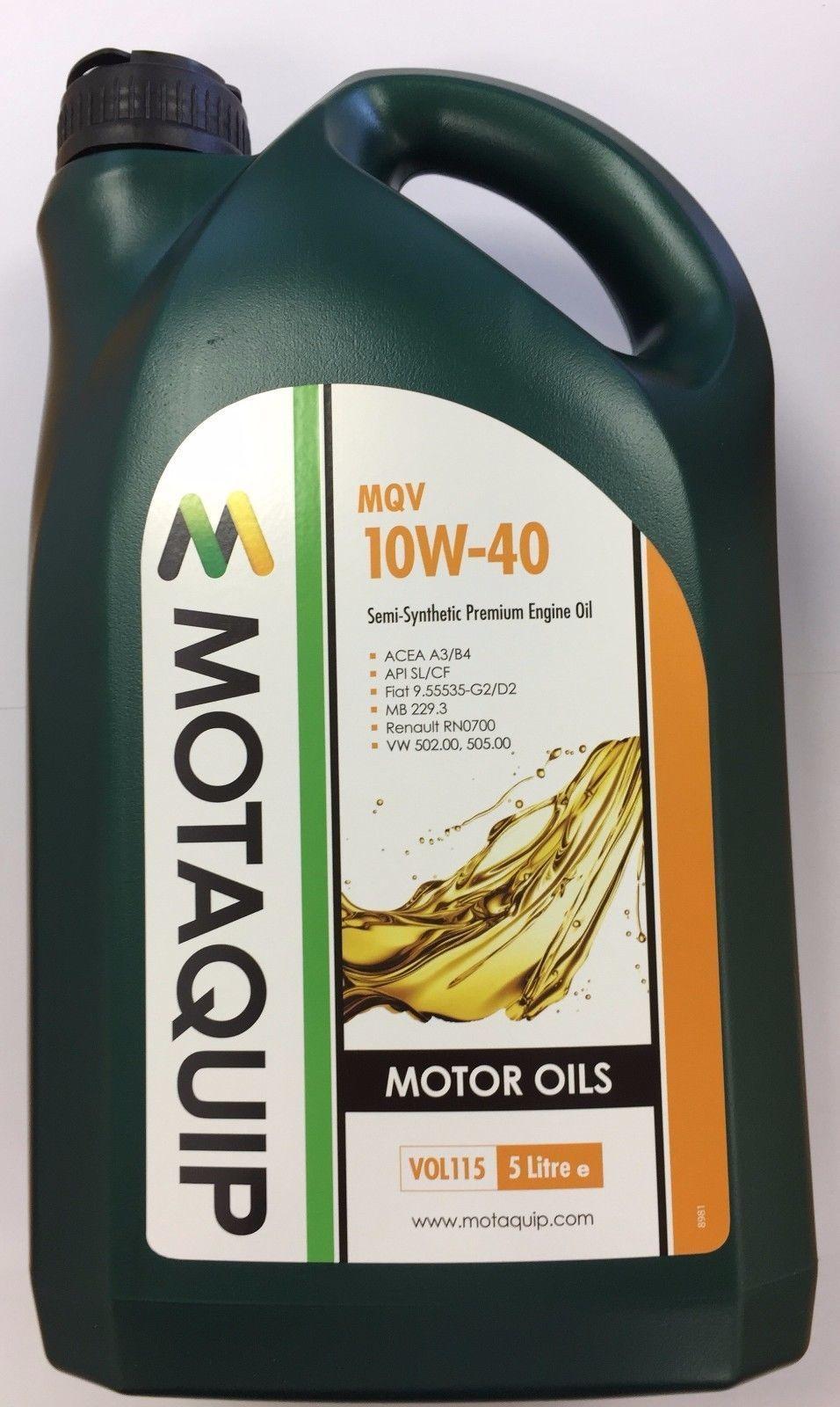 Motaquip 10w40 Semi synthetic engine oil - £11.45 @ eBay / car_part_supermarket*