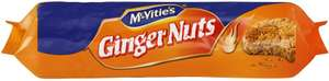 McVitie's Ginger Nuts (250g) was £1.11 now 55p @ Morrisons