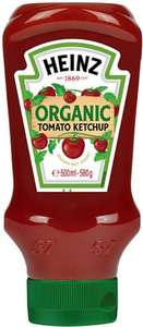 Heinz Organic Tomato Ketchup (580g) was £2.44 now £1.00 @ Morrisons