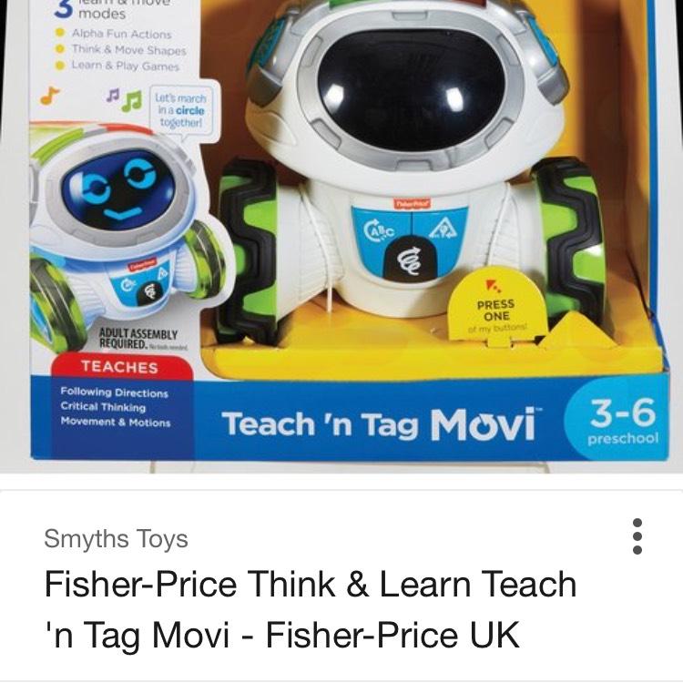 Teach n Tag Movi - £33.49 @ Smyths