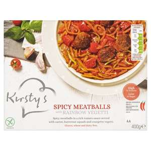 Kirsty's Cottage Pie with Sweet Potato Mash (400g) was £2.92 now £2.10 @ Morrisons
