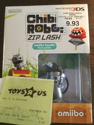 Chibi-Robo! Zip Lash - Amiibo Bundle Pack - £9.93 @ Toys'R'Us in store