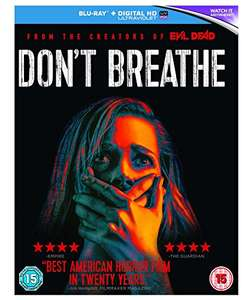 Don't Breathe Blu Ray - Amazon - £5.01 with Prime / £7 non Prime