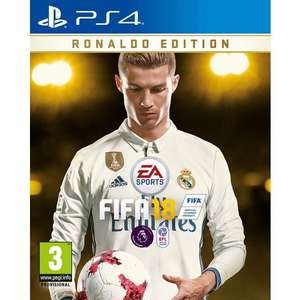 FIFA 18 - RONALDO EDITION - 3 DAYS EARLY ACCESS £66.99 @ Smyths