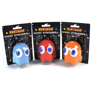 Pac-Man - Ghost / Transformers Optimus Prime Stress Ball £2.99 ea Delivered @ Go2Games