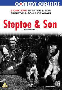 Steptoe and Son Double Bill Steptoe and Son, Steptoe and Son Ride Again 2 Disc DVD 75p Amazon Prime/1.74 Non Prime Sold by Amazon