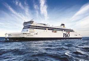 Travel with a P&O Ferries 3 day short break £69