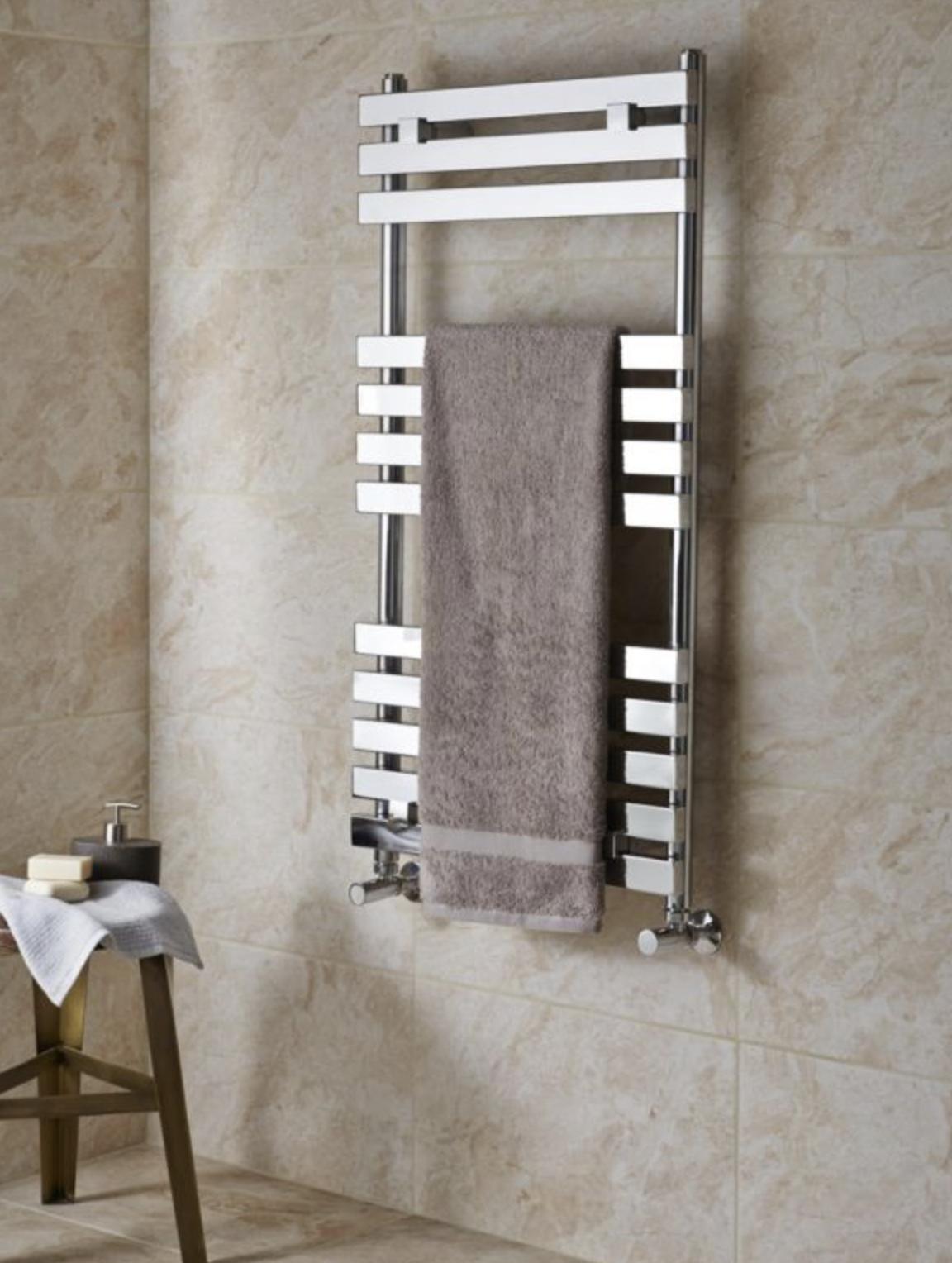 KUDOX MALAGA Towel Warmer (H)974MM (W)500MM £75 @ B&Q