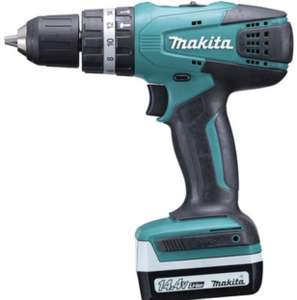 Makita 14.4V Cordless Hammer Drill with 2 Batteries £61.99 @ Argos