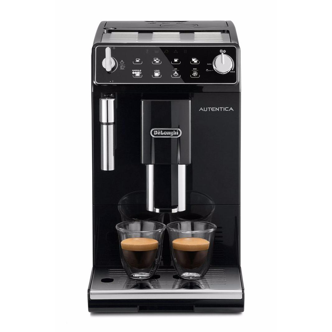 DeLonghi - Autentica bean to cup black coffee machine ETAM29.510B Price cut £225 with code @ Debenhams