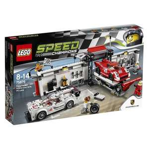 LEGO 75876 Speed Champions Porsche 919 Hybrid and 917K Pit Lane Set £45 @ Amazon
