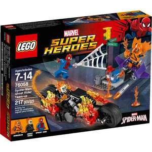 Lego 76058 Spider-Man Ghost Rider Team-up  £7.99 Widnes Tesco