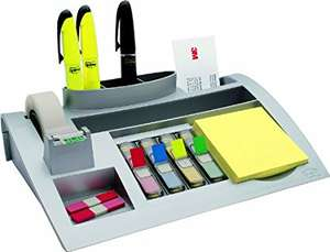 Post-it C50 Desk Organiser Set INCLUDES Post-it Notes, Index Flags and Scotch Tape  £2.16 @ Amazon (Add On Item)