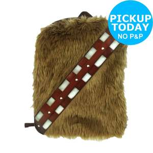 Star Wars Novelty Backpack - Chewie was £11.99 Now £7.49 C+C @ Argos / Ebay Outlet
