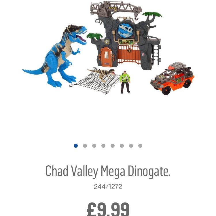 Chad Valley Dinogate £9.99 C+C @ Argos