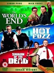 The Cornetto Trilogy DVD Boxset (Shaun of the Dead/Hot Fuzz/The World's End) £4.16 delivered @ Zoom ebay store