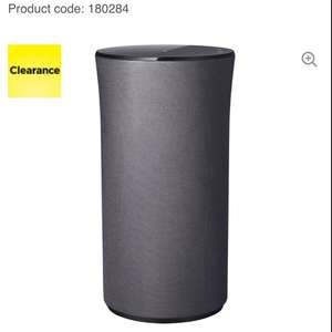SAMSUNG R Lite Audio 360 Wireless Smart Sound Multi-Room Speaker - Grey @ CURRYS - £39.97. Save £44.03