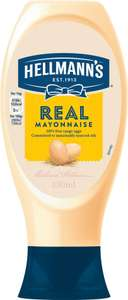 Hellmann's Real Mayonnaise (430ml) was £2.74 now £1.25 @ Morrisons