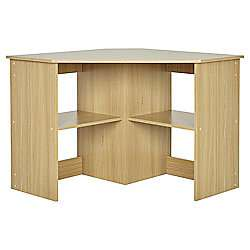 Fraiser Oak Corner Desk £45.90 Delivered or £37.95 with Delivery pass @ Tesco Direct
