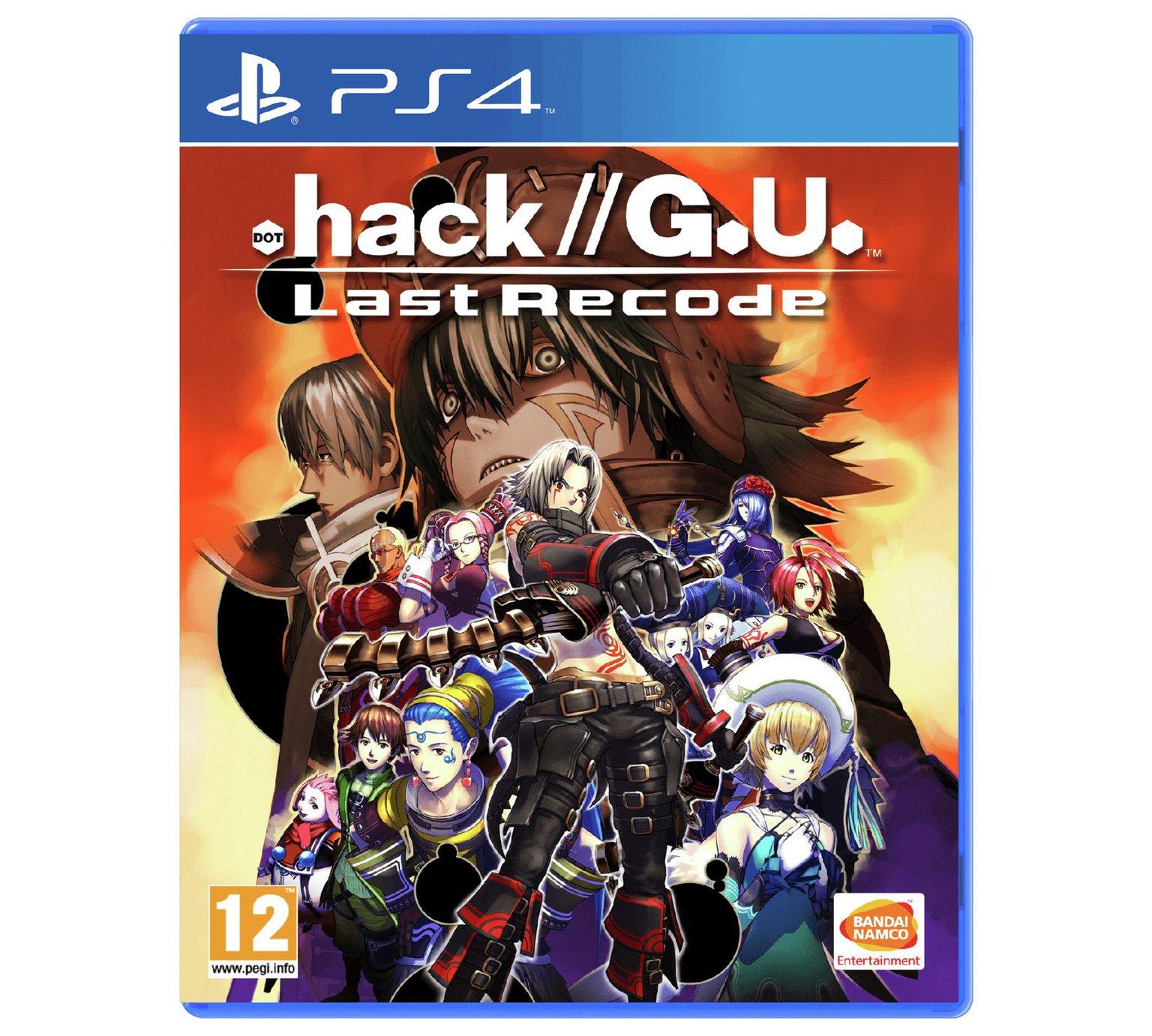 .hack//G.U Last Recode (PS4 Pre-order) £29.99 @ Argos