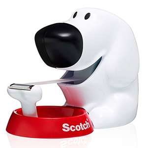 Scotch 19mm x 7.5m Dog Dispenser with 1 Roll of Scotch Magic Tape £1.50 @ Amazon. Free delivery for Prime members