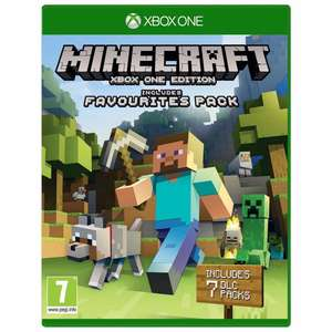 Minecraft Xbox One edition + Favourites packs £12.99 @ Argos