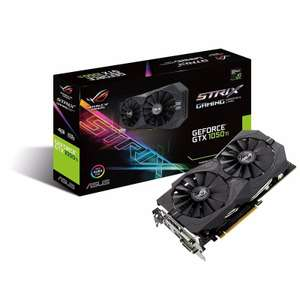 Asus Nvidia 1050 Ti 4GB ROG STRIX GAMING Graphics Card £124.97 @ Ebuyer Weekend Deal +Delivery (Collect Plus £1.98)