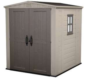 Keter 6x6ft plastic shed £389.99 - Argos