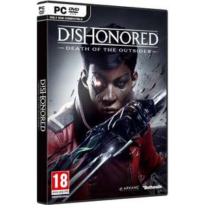 Dishonored: Death of the Outsider (Steam) £12.25 (Preorder) @ Play-Asia (Amazon £12 Prime ONLY)