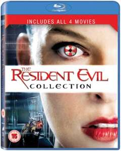 [Blu Ray] Resident Evil: 1-4 Collection - £5.98 - Zoom