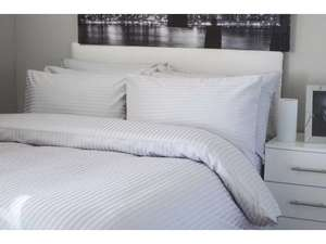 the hotel collection 300 thread count double duvert colver set £4.99 @ B&M