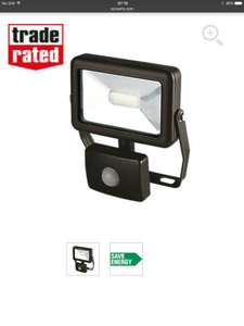 LED SECURITY FLOODLIGHTS FROM £2.99 FREE C+C @ SCREWFIX