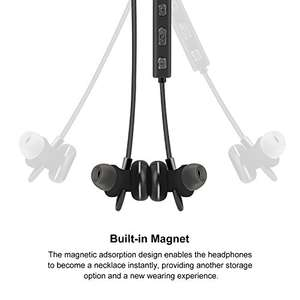 AROTAO Bluetooth Headphones Wireless 4.1 Magnetic Earbuds In-Ear Sweatproof Sports Earphones AptX Stereo with Mic £8.49 Sold by EASTEEM and Fulfilled by Amazon - lightning deal