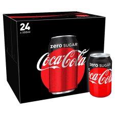 It's still ON!! Coca Cola Coke Zero 24X330ml £6 @ Tesco