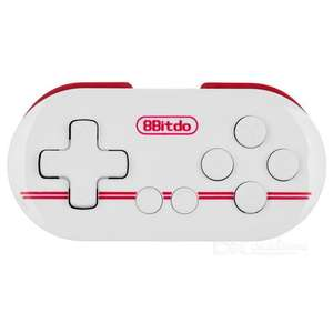 8Bitdo ZERO FC30 Bluetooth Remote Controller now £5.91 @ Gearbest (20 hour run-time per charge)