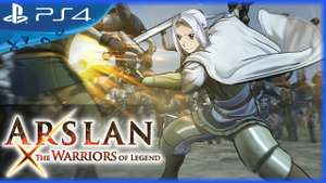 Arslan The Warriors of Legend (PS4) £9.98 prime / £11.97 non prime Sold by Trigger Happy Games LTD and Fulfilled by Amazon.
