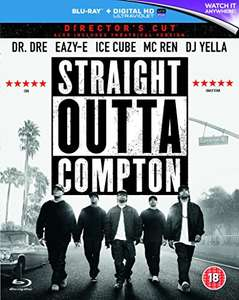 Straight Outta Compton Blu Ray + Digital Download £4.19 (Prime) £6.18 non prime @ Amazon
