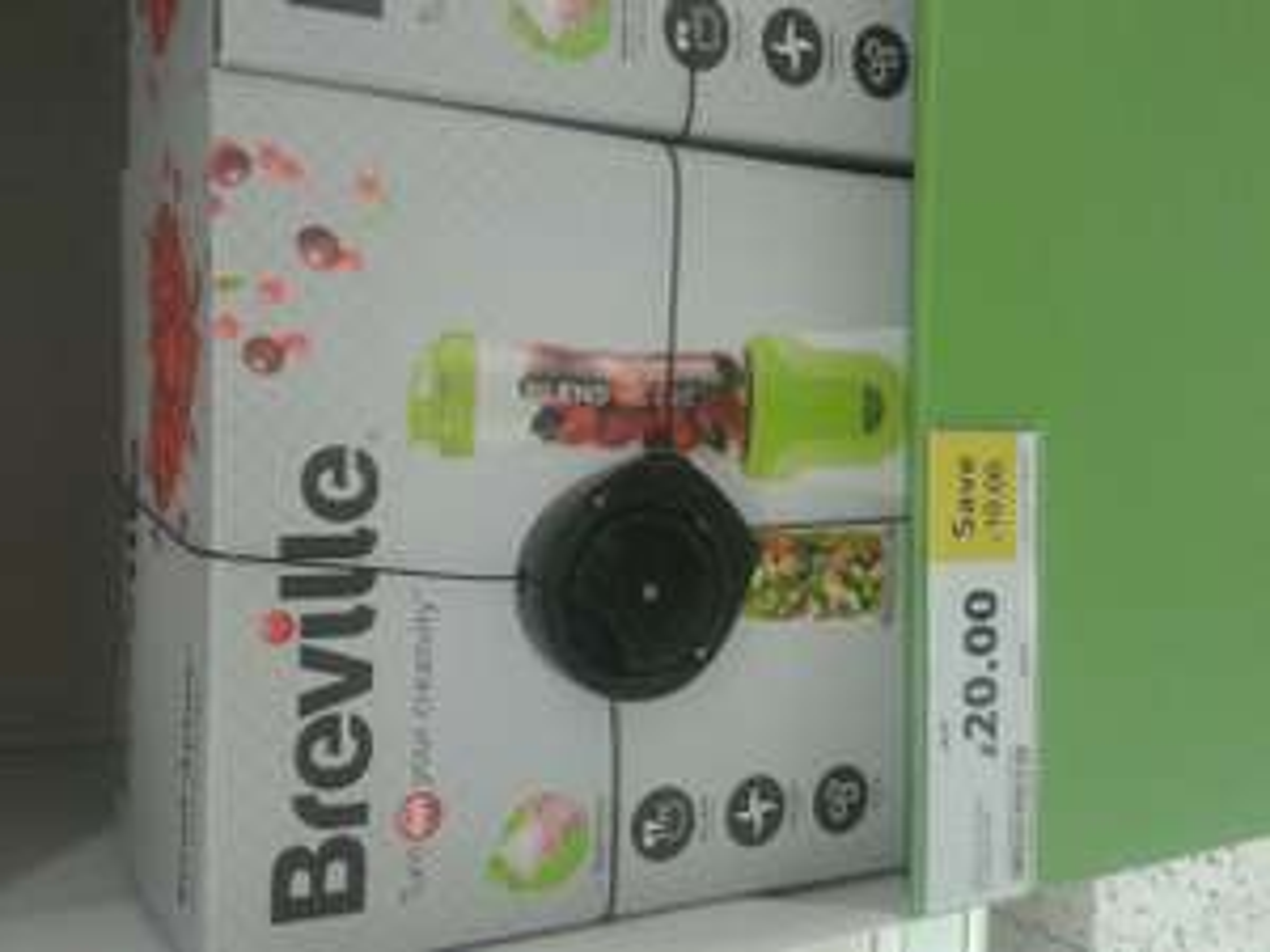 Breville blend active £20 @ Tesco - Perth