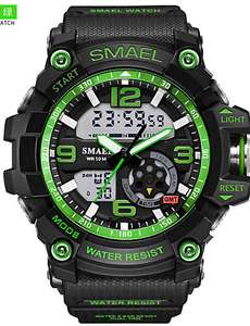 Men's Smael Military style watches - Various colours £7.46 Delivered @ Lightinthebox
