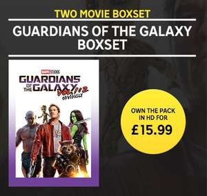 Guardians of the Galaxy Vol.1 & 2 Digital HD Boxset - £15.99 + 20% Cashback with TopCashBack @ Rakuten tv