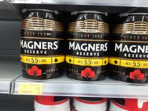 Magners reserve cider keg 5l reduced £10 instore @ Asda - Woking