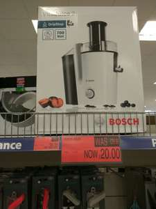 BOSCH juicer - £20 instore at B&M Store