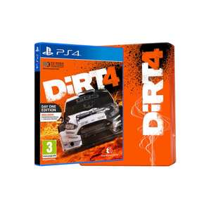 DiRT 4 Steelbook Edition - PS4/XBO [Tesco Exclusive] Using Code £30.98 @ Tesco