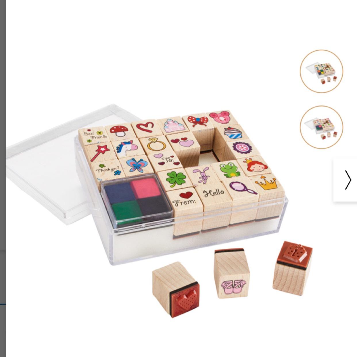 Unleash your creativity! Crelando Stamp Set (2 different design) £3.99 @ Lidl