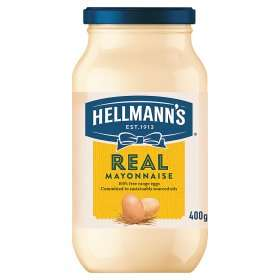 Hellmann's Real Mayonnaise or Light Mayonaise (400g) was £1.92 now £1.00 (Rollback Deal) @ Asda