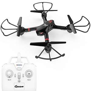 £17.94 With Code in comments! DROCON Cyclone X708 / First Drone for Beginners Series Training Quadcopter Equipped with 3D Flip Headless Mode One Key Return Easy Operation - £29.90 Sold by dvtecheu and Fulfilled by Amazon