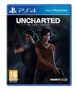 Uncharted: The lost legacy + Dax and Daxter remastered £22.99 prime / £24.99 non prime @ Amazon